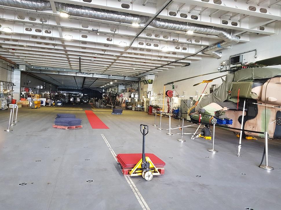 canberra hangar tiger