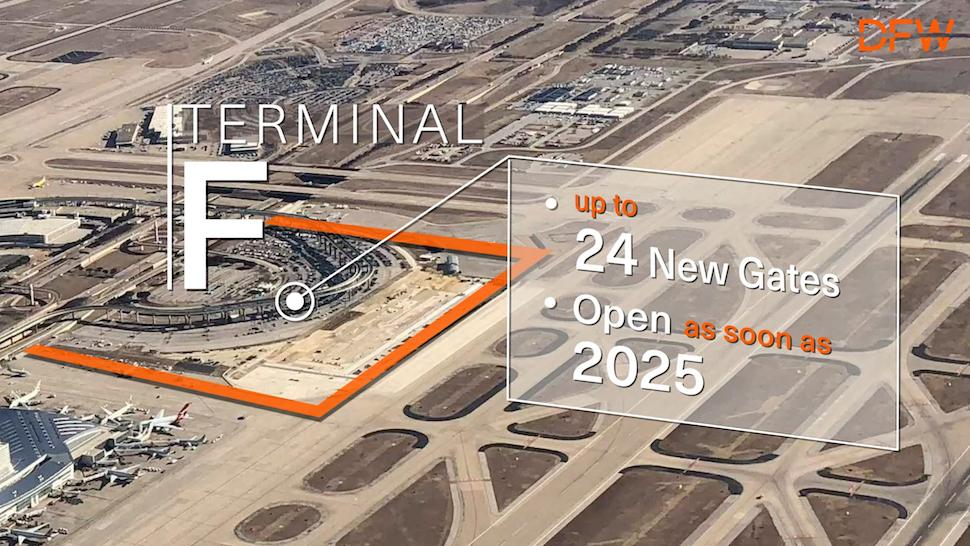 DFW terminal F