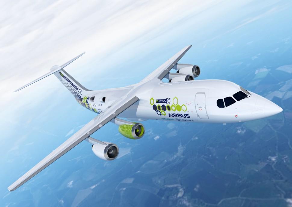 E-Fan X c Airbus