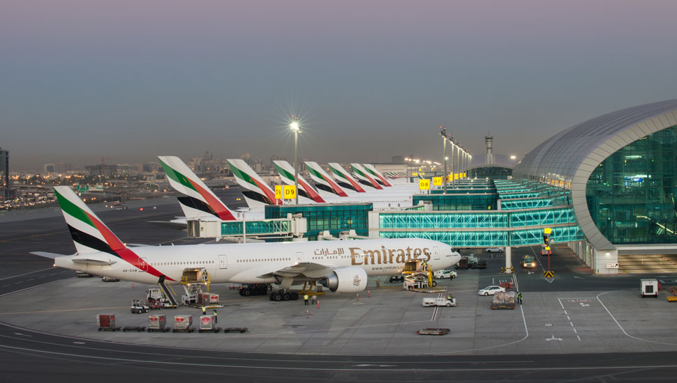 emirates fleet dubai airport