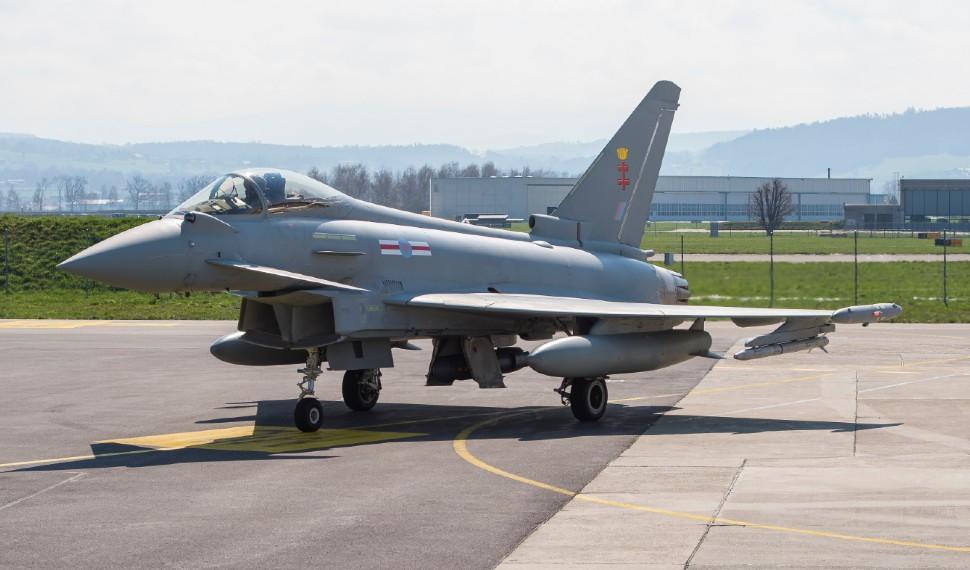 Eurofighter Typhoon - Armasuisse