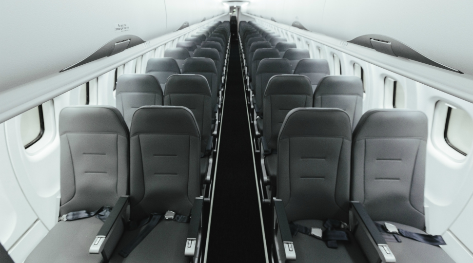 Finnair Norra ATR 72 new interior