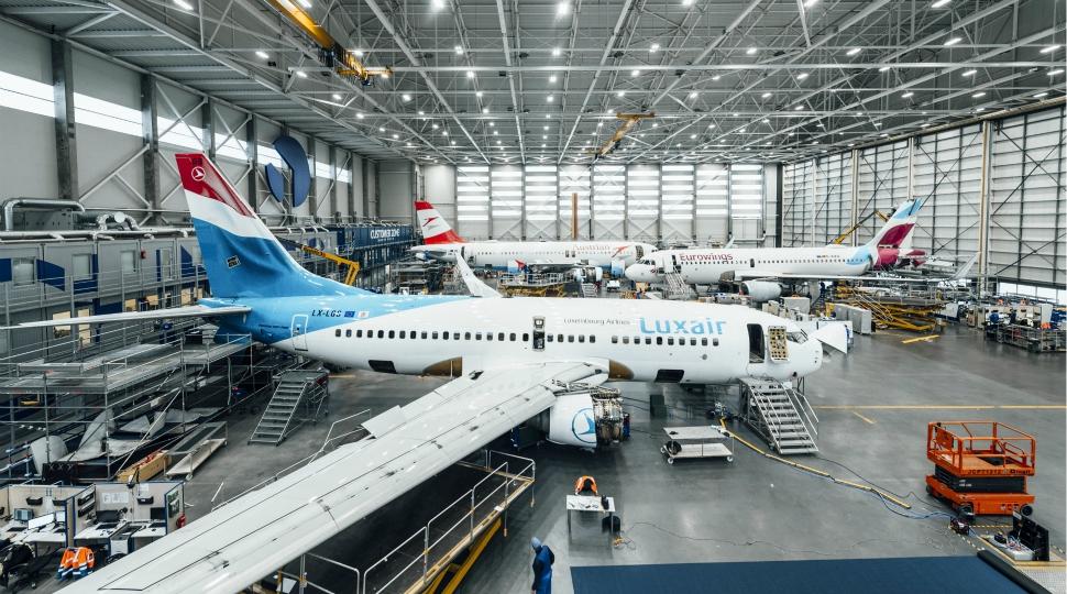 FL Technics Kaunas Hangar