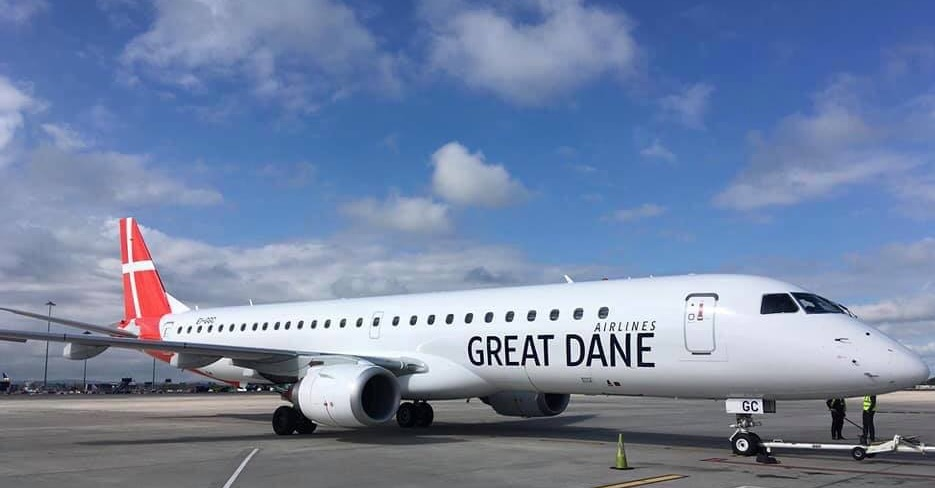 Great Dane Airlines E195