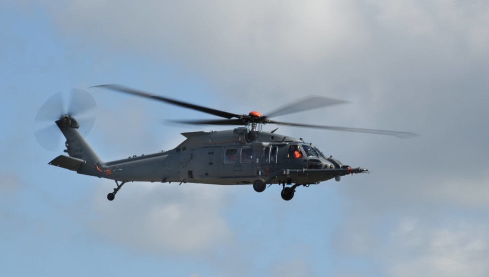 HH-60W first flight