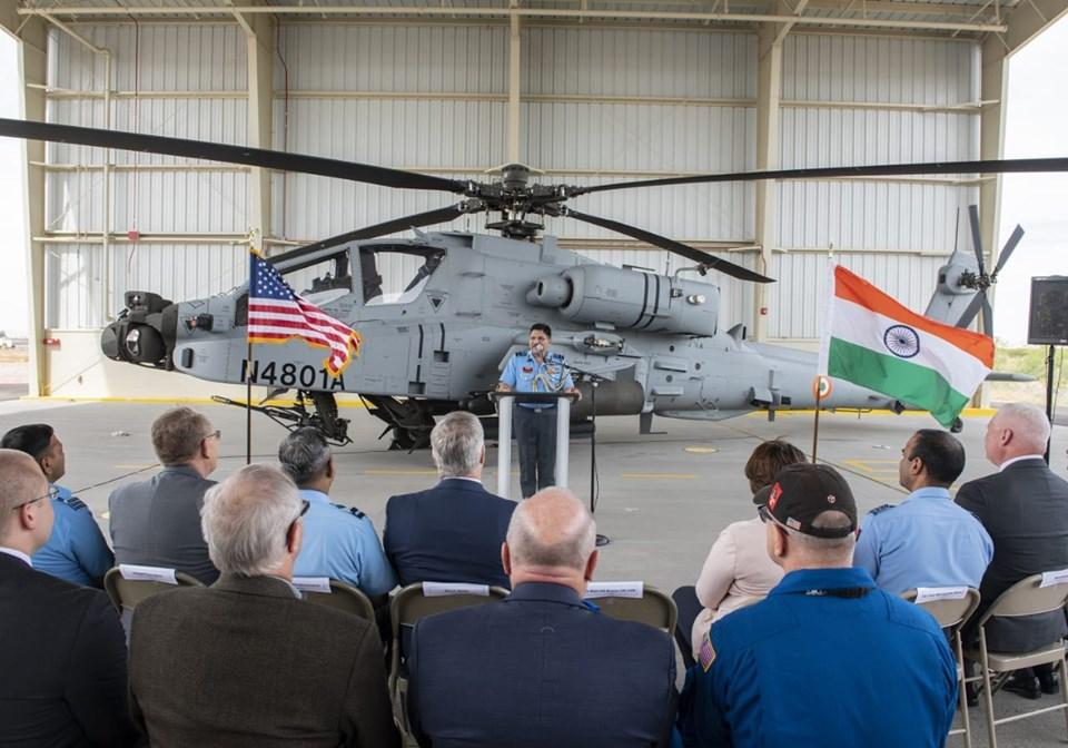 Indian air force Ah-64