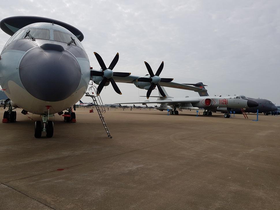 KJ-500 and H-6K Zhuhai 2018