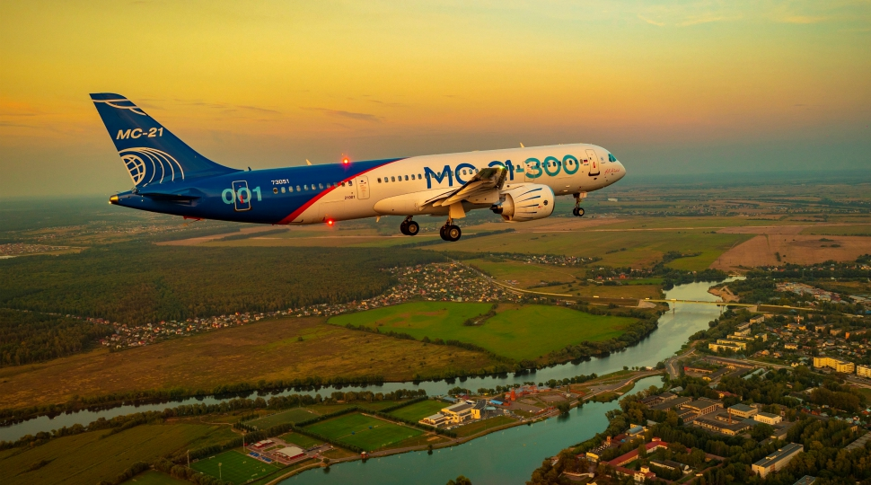 MC-21 prototype