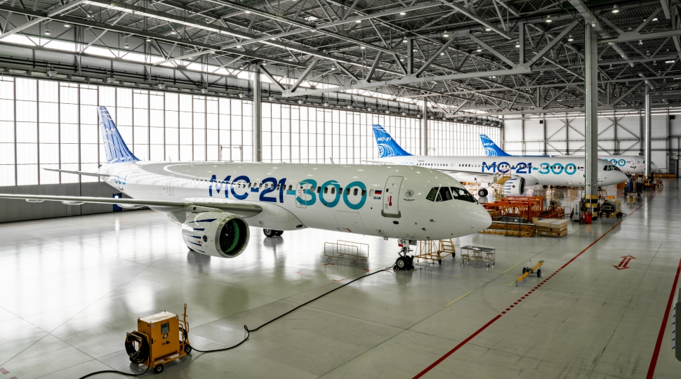 MC-21 test fleet May 2019