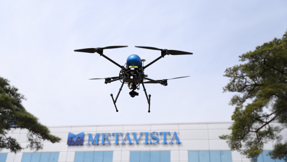 MetaVista hydrogen fuel cell powered UAV