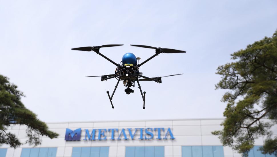 MetaVista hydrogen fuel cell powered UAV