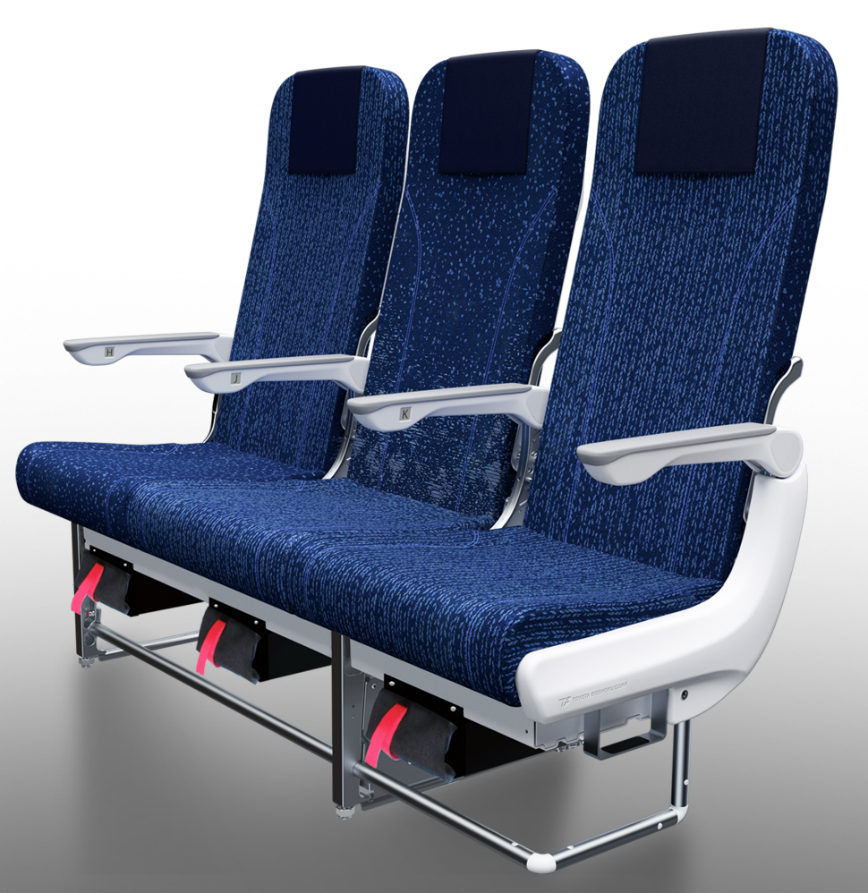 New ANA eco seats on 19 Boeing 787 and 777