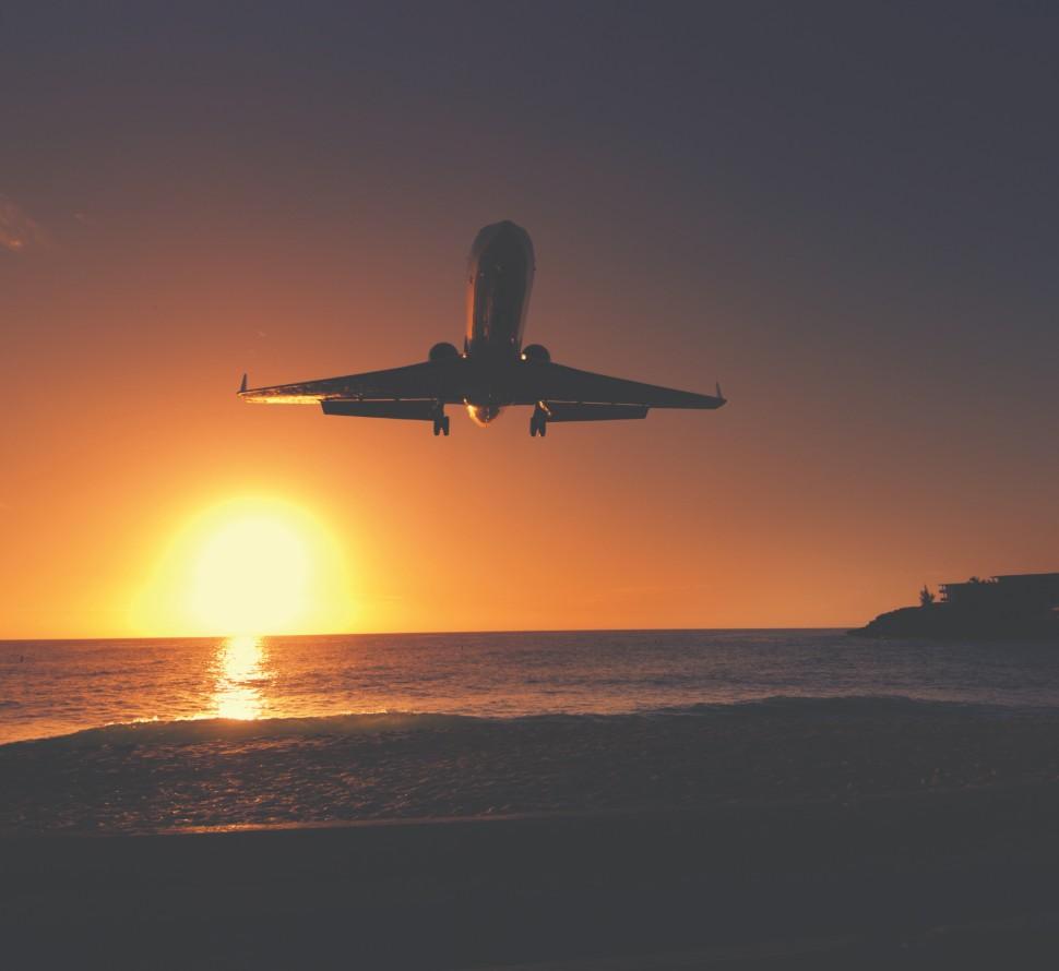 over sea flight c Aviation Images Shutterstock rex