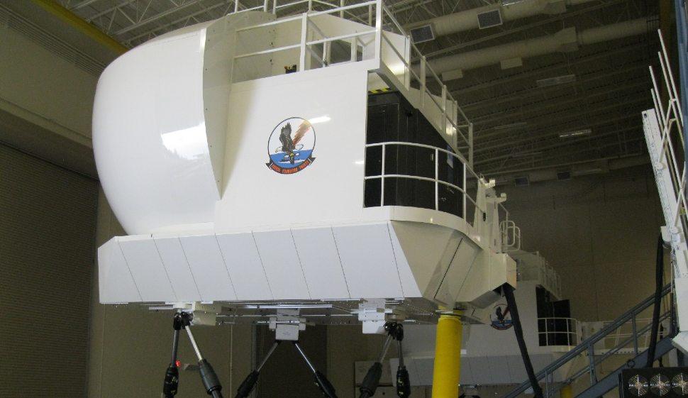 P-8A simulator - CAE