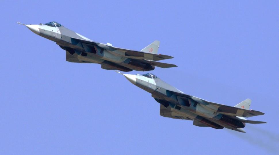 T-50 Su-57 pair