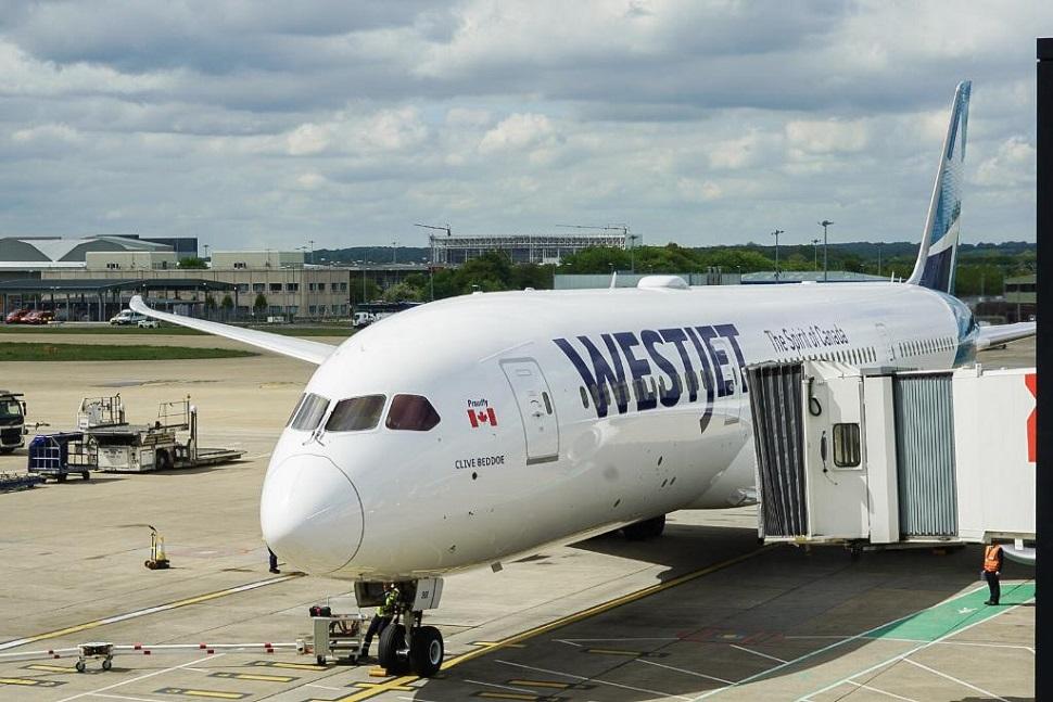 WestJet 787 UK