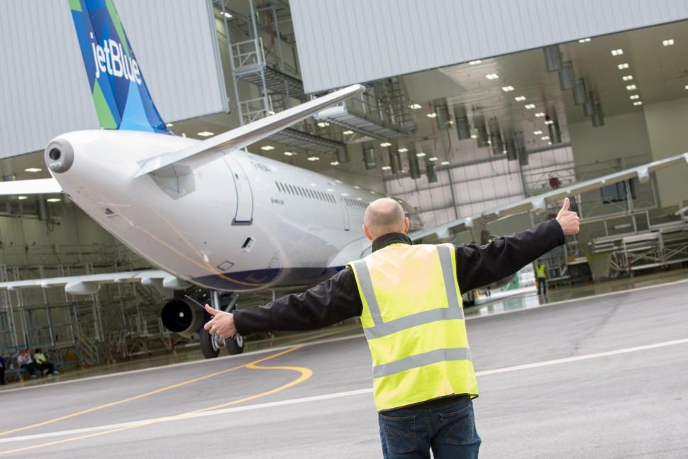 970 First U.S.-built A321 exits paint shop c Tad D