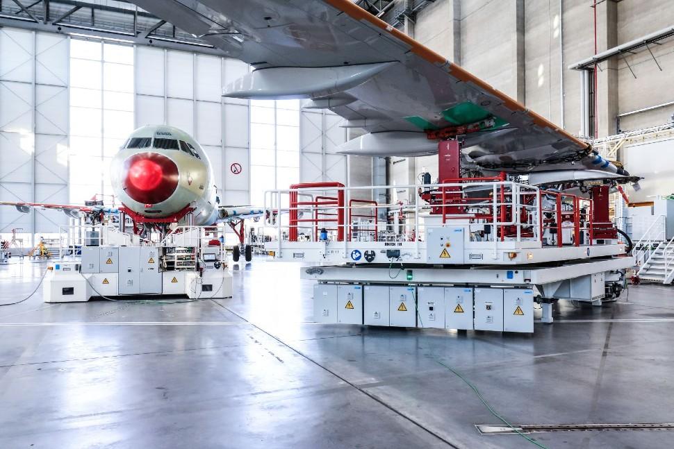 A320-production-line-Hamburg c Michael Lindner Air