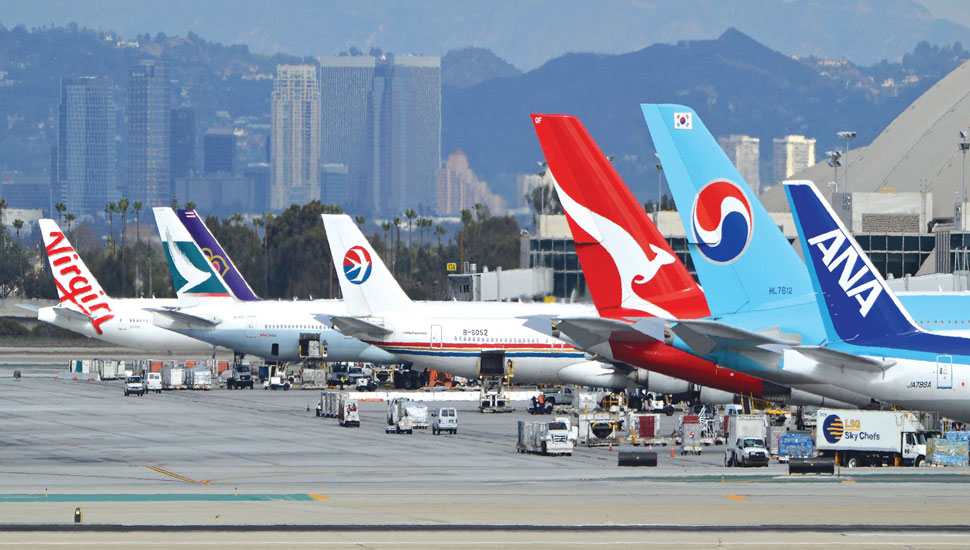 Asia airlines tails