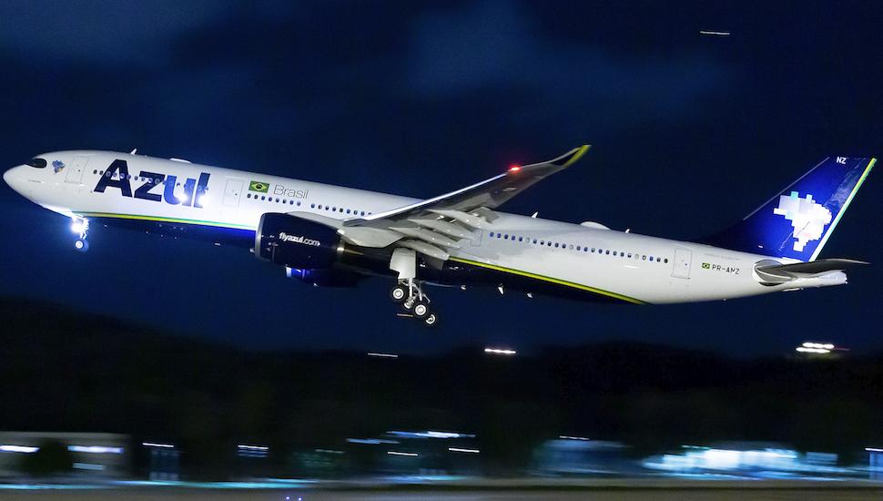 Azul first A330-900 PR-ANZ credit: Rafael Borba