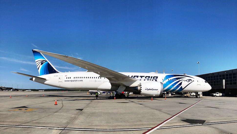 EgyptAir 787 Dulles