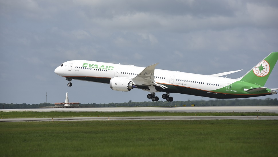 Eva Air first 787-10. Boeing.