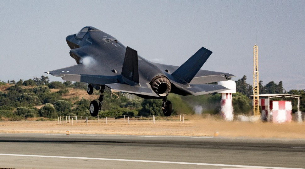 F-35B first mission - Crown Copyright
