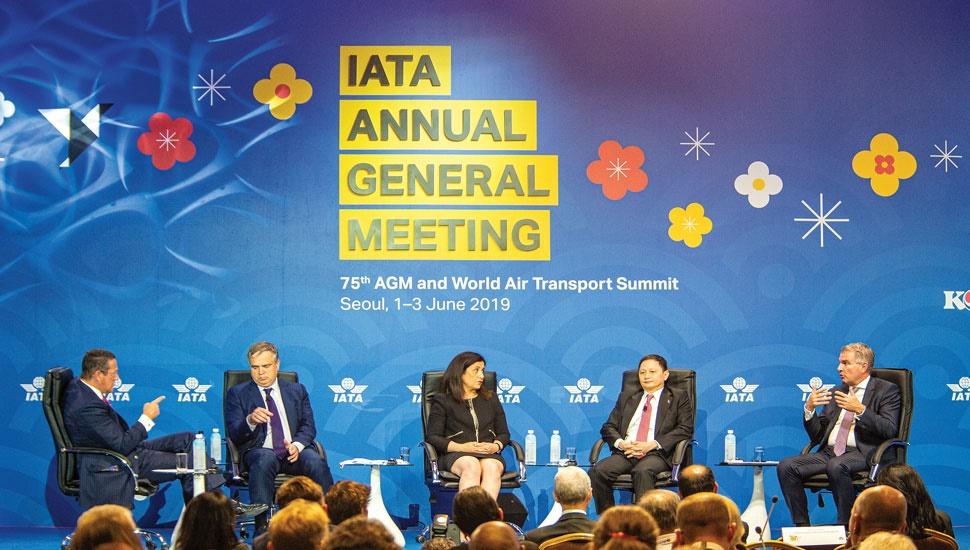 IATA CEO panel 2019