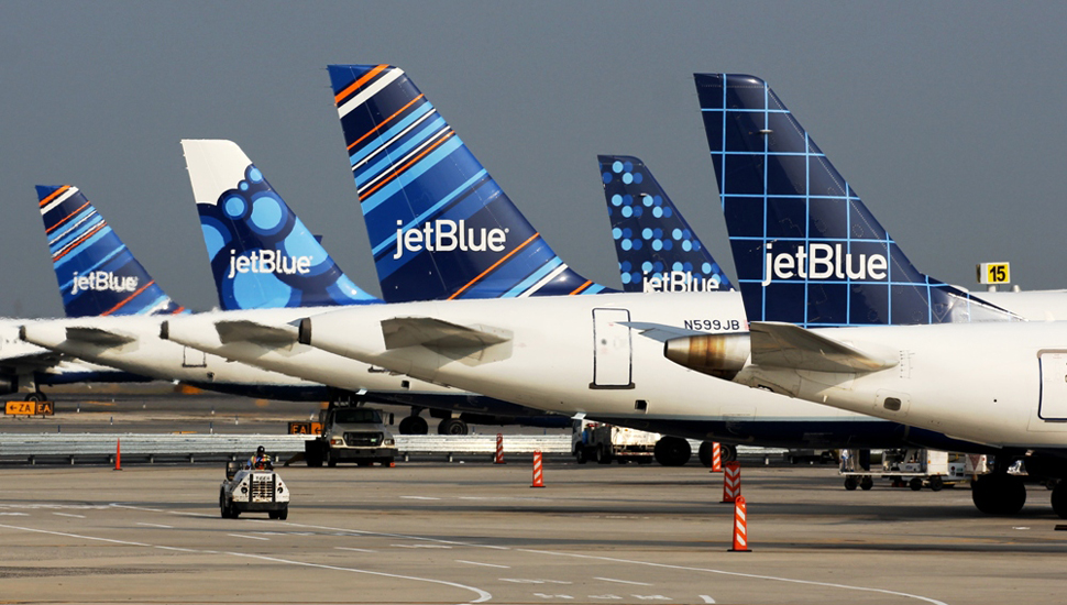 jetblue tail fins
