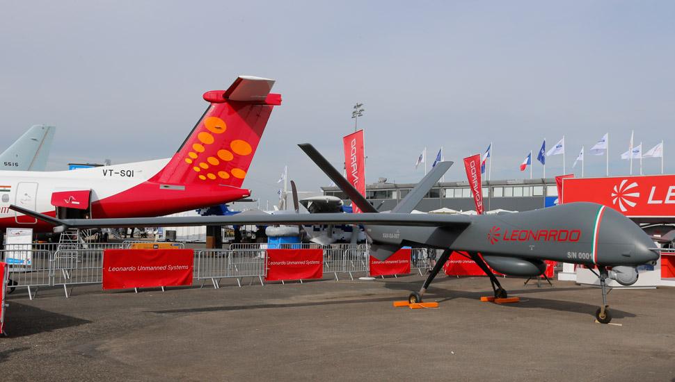 Leonardo unveils Falco Xplorer UAV