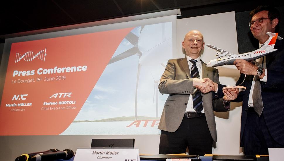 NAC ATR order signing Paris 2019