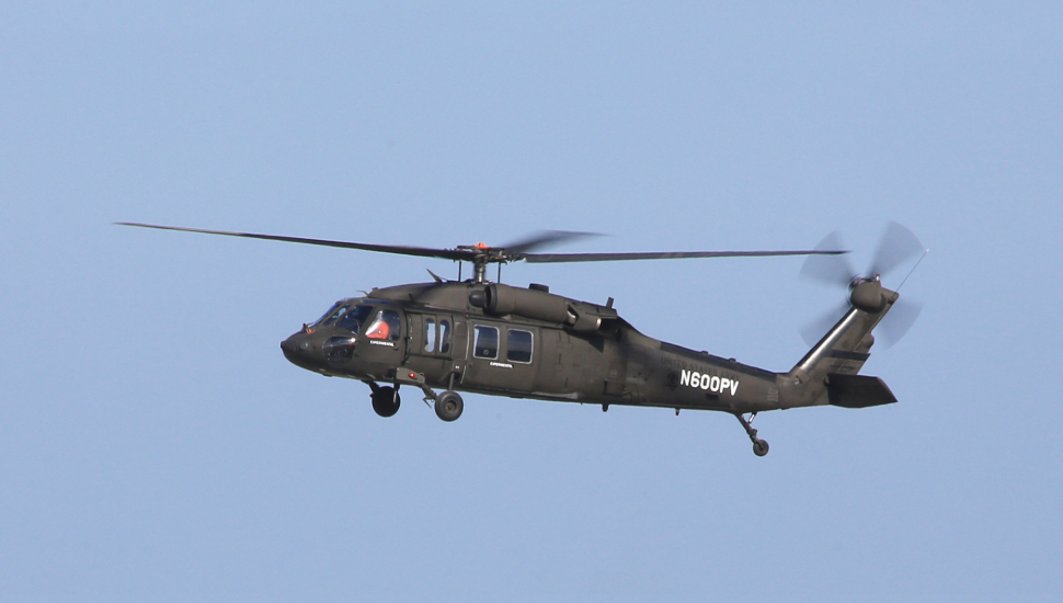 Optionally Piloted Sikorsky UH-60A takes first fli