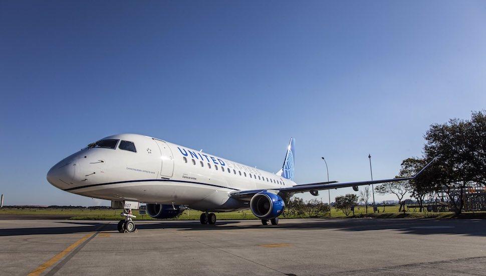 United E175 new