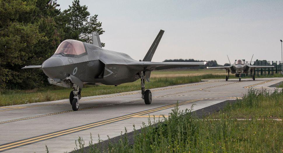 207 Sqn F-35Bs - Crown Copyright