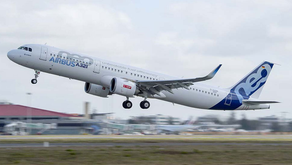 A321neo TAKE OFF c