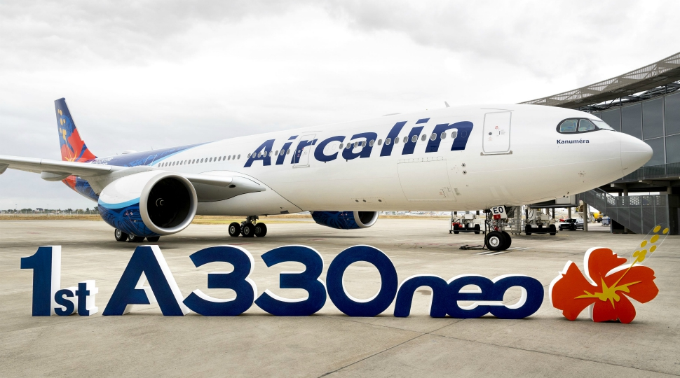 Airbus AirCalin first A330neo 31 July 2019