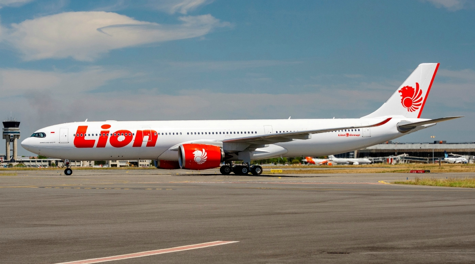 Airbus Lion Air first A330-900