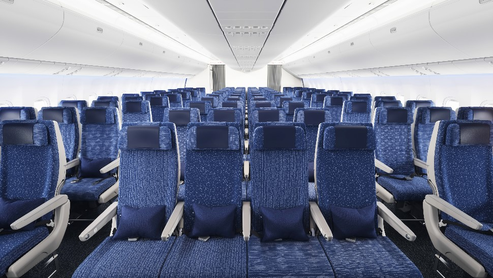 ANA 777-300ER econ seats