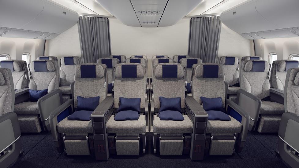 ANA 777-300ER premium economy
