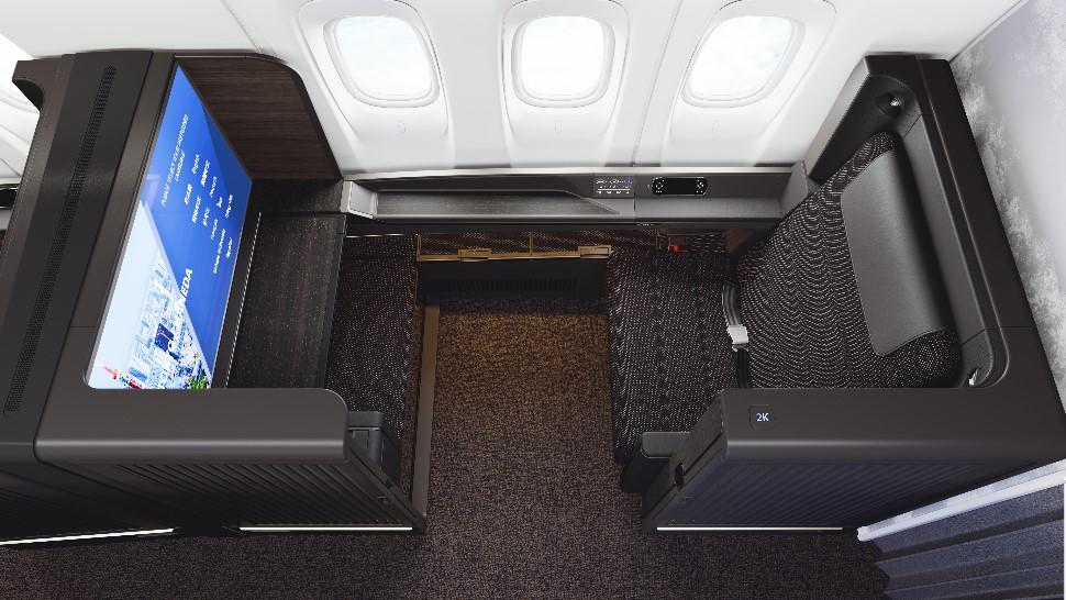 ANA new 777-300ER first class