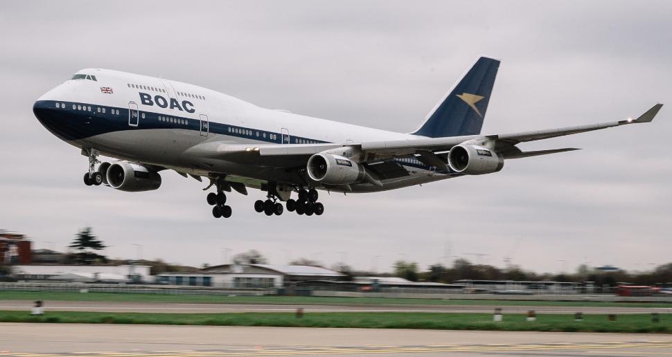 BA BOAC 747 - Stuart Bailey/British Airways