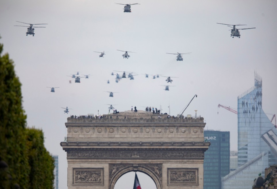 Bastille Day flight