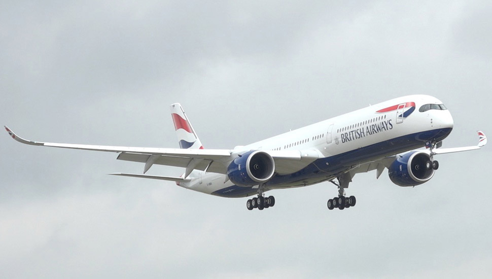 PICTURES: British Airways takes delivery of first A350 | News | Flight  Global