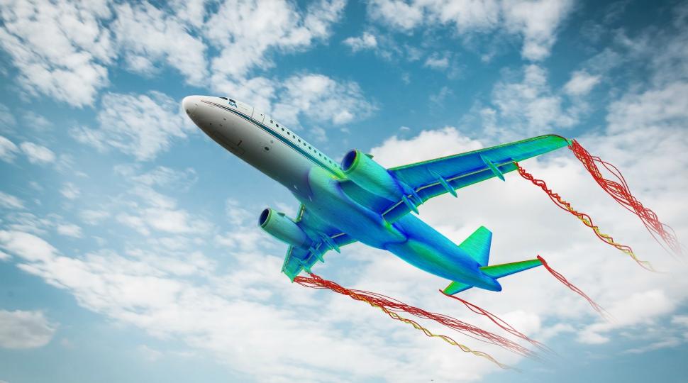 DLR A320 airflow simulation