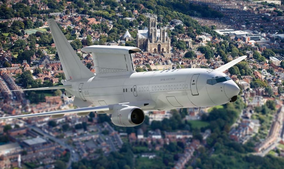 E-7 RAF - Crown Copyright
