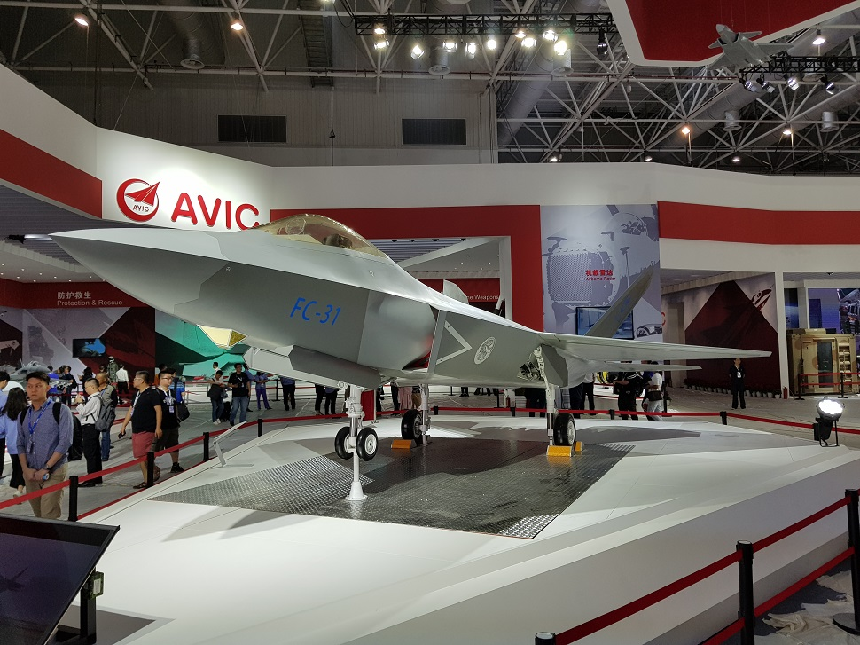FC-31 model Zhuhai 2018