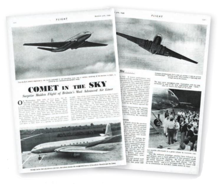 fint comet flight coverage