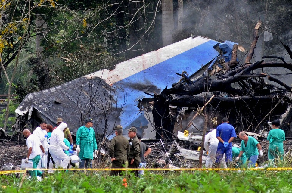 Global Air 737-200 Havana 8 May 2018 crash c Omara