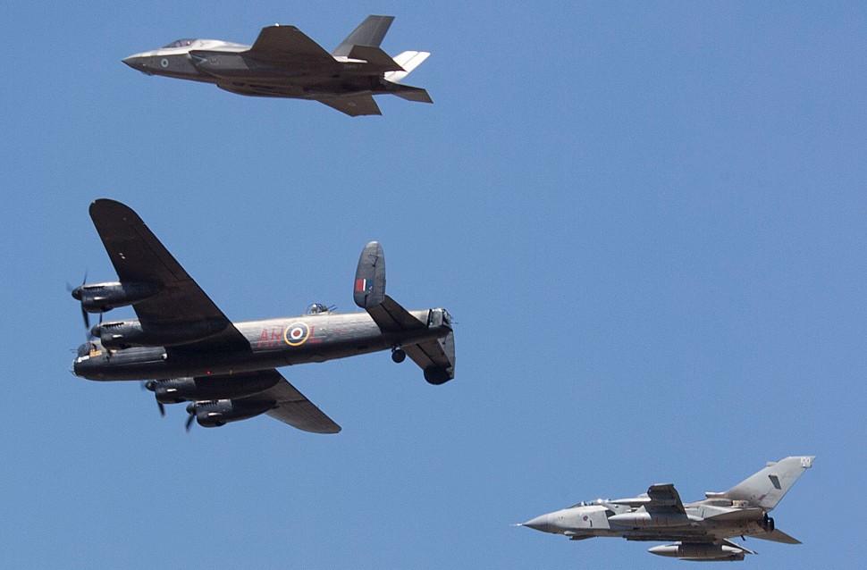 Lancaster F-35B Tornado - Gary Dawson/Shutterstock