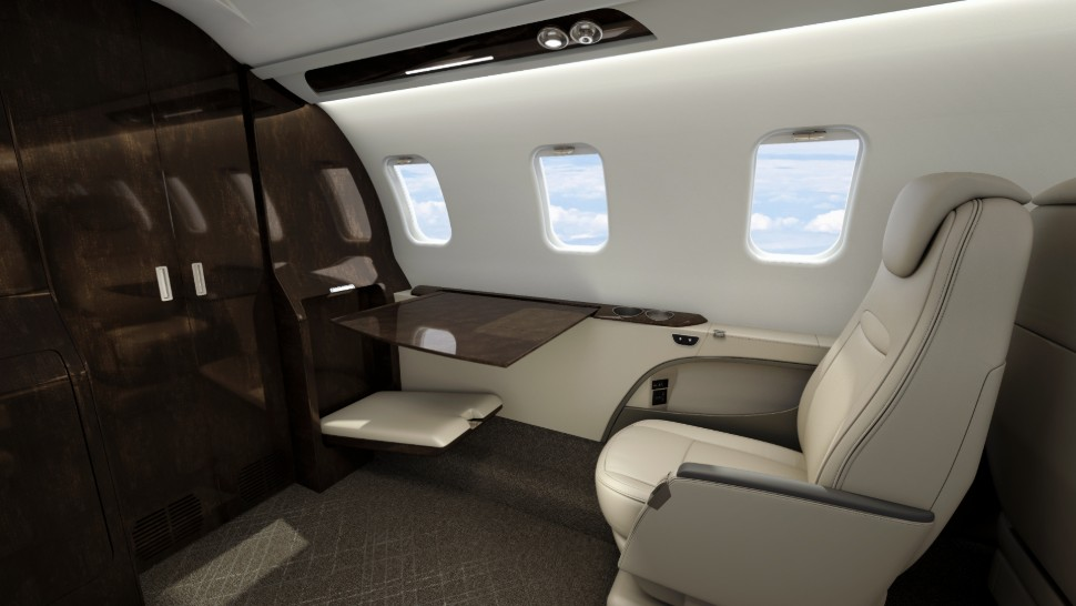 Learjet 75 Liberty Interior